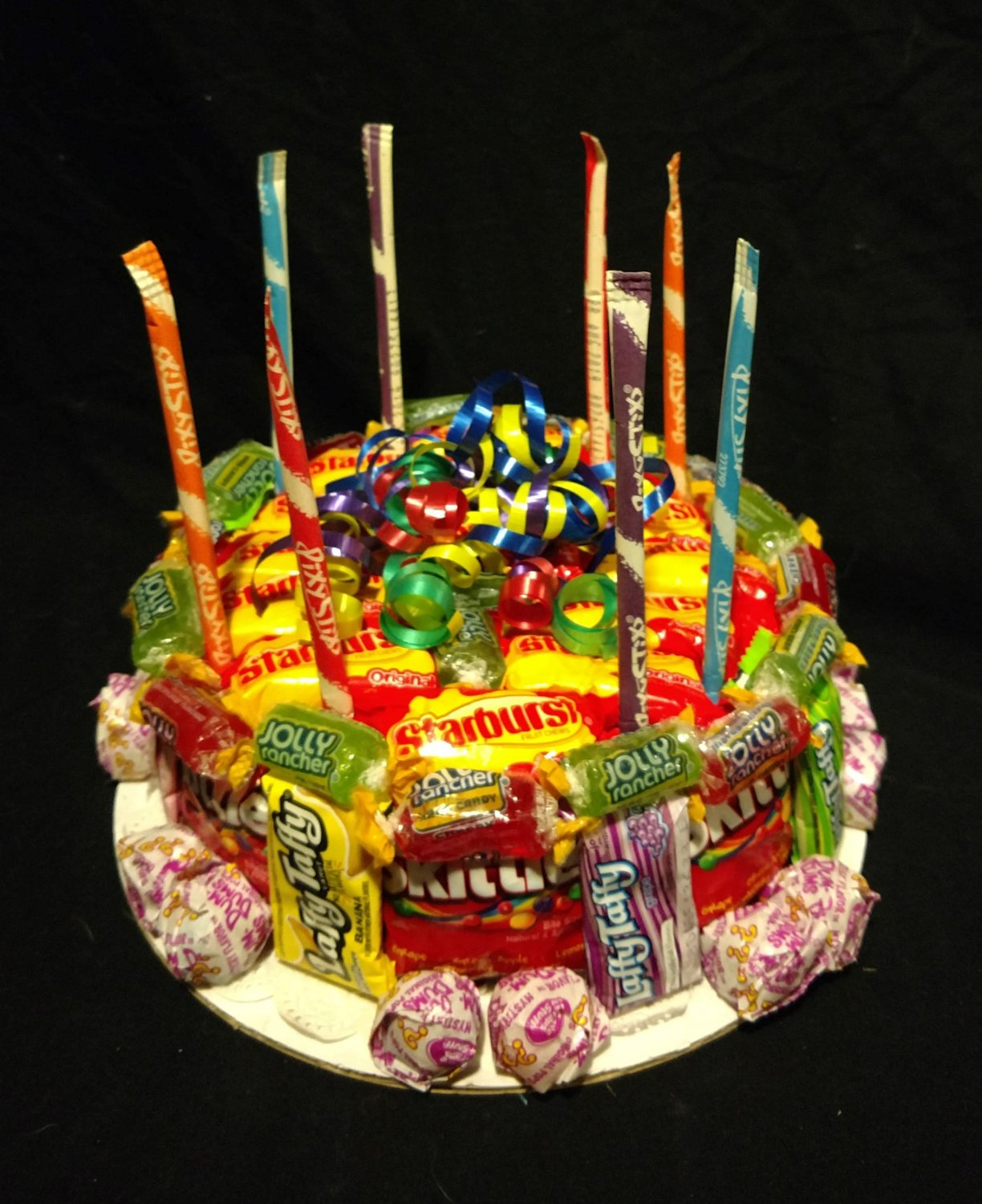 Candy Bouquet Cake
