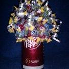 Dr. Pepper Candy Bouquet