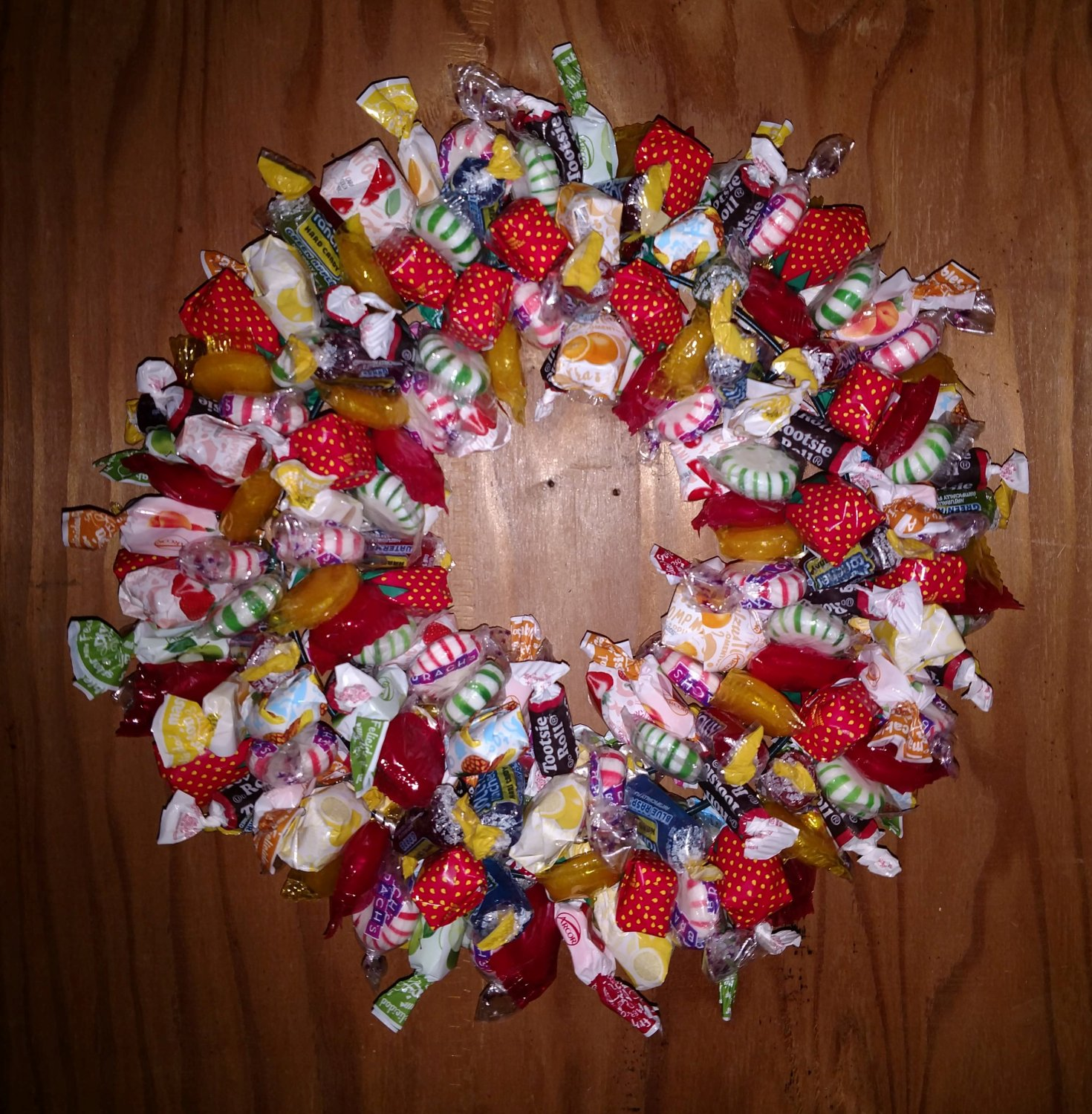 Hard Candy Wreath