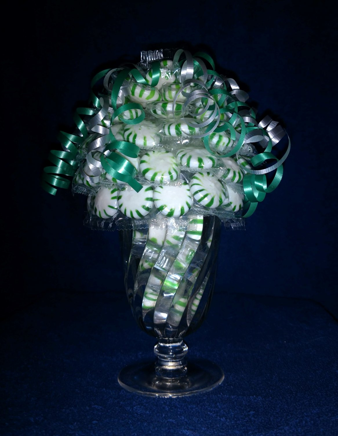 Green Peppermint Candy Bouquet