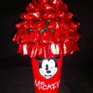 Mickey Mouse Strawberry Bon Bon Candy Bouquet