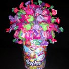Shopkins Fruit Dubble Bubble Gum Candy Bouquet