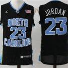 Men's north carolina #23 jordan basketball jersey black