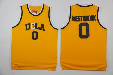 outlet store 44175 737b0 Russell Westbrook Jersey UCLA Oklahoma City Thunder Yellow ...