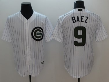 cheap for discount 23aae a6b19 Men's 2018 Chicago Cubs Jerseys #9 Javier Baez Jersey White ...