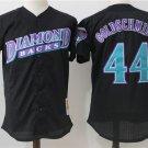 Men's Arizona Diamondbacks Jerseys #44 Paul Goldschmidt Jersey Black Stitched