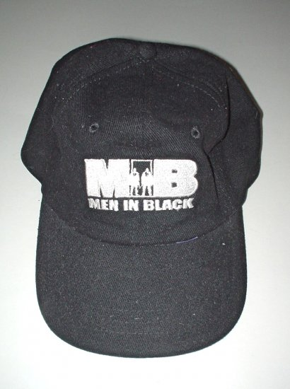 "NEW - ""Men In Black"" Baseball Cap - Black"