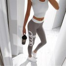 Sexy Color Block Yoga Pants Size L