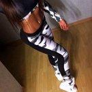 Camou Print Fitness Yoga Pants Size S