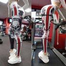 Scary Print Fitness Yoga Pants Size XL