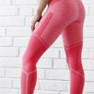 Sexy Block Color Fitness Yoga Pants Size M