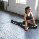 Sexy Black & White  Print Fitness Yoga Leggings Size L