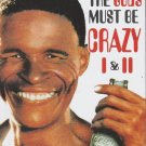 Movie Collection DVD The Gods Must Be Crazy I & II + Special Features NTSC