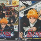 Anime DVD Bleach Complete Series Vol.1-366 End + Movie Part 1-4 + 2 Special