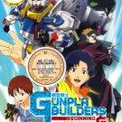 Anime DVD Model Suit Gunpla Builders Beginning Gundam The Movie English Subtitle
