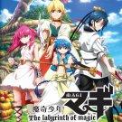 Anime DVD Magi The Labyrinth Of Magic Season 1-3 Vol.1-63 End English Subtitle
