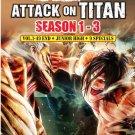 Anime DVD Attack On Titan Season 1-3 Vol.1-49 End + Junior High + 9 Special