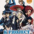 Anime DVD K Project Season 1+2 Vol.1-26 End + Movie + K Seven Stories Movie