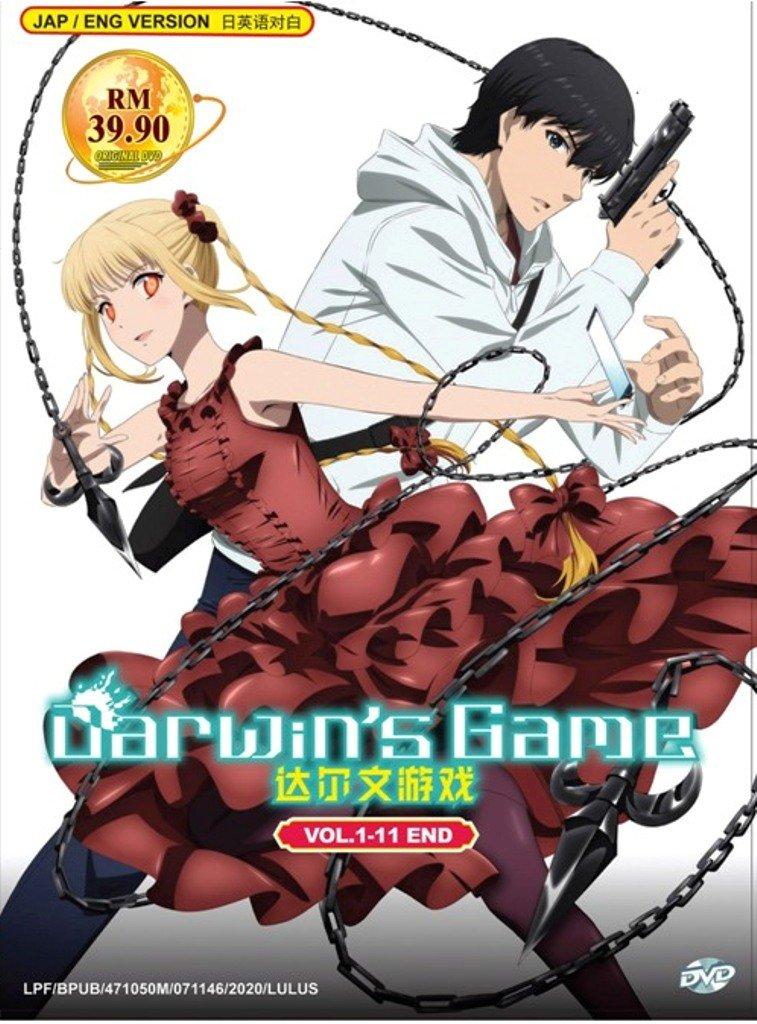 Anime DVD Darwin's Game Vol.1-11 End English Dubbed