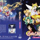 Anime DVD Sailor Moon Season 5: Sailor Stars Vol.1-34 End (1996) English Dubbed