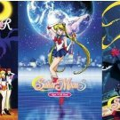 Anime DVD Sailor Moon Season 1-5 (1992-1996) English Dubbed Express Shipping