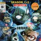 Anime DVD Beastars Season 1+2 Vol.1-24 End English Dubbed