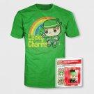 Funko pocket pop t shirt lucky charms sz small green collectible vinyl