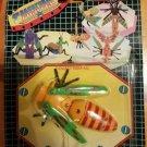 Transformer Insect robot vintage action figure knock off rare 1980s Boham