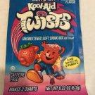 Kool Aid Berry Blue Twists packet rare htf sealed vintage 90s