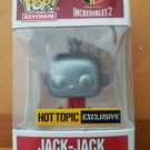 Funko Pop Keychain Jack Jack chrome Incredibles 2 Hot Topic Exclusive
