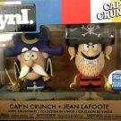 Funko VYNL Pop Cap'n Captain Crunch & Jean Lafoote figures 2 set shop exclusive vinyl fiigurines