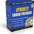 iPROFIT EBOOK PACKAGE With RESELL RIGHTS MAKE MONEY FROM HOME