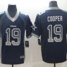 Men's AMARI COOPER #19 Dallas cowboys blue Football Jersey