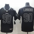 Men's Dallas Cowboys 90 DeMarcus Lawrence Football Player Jersey Limited