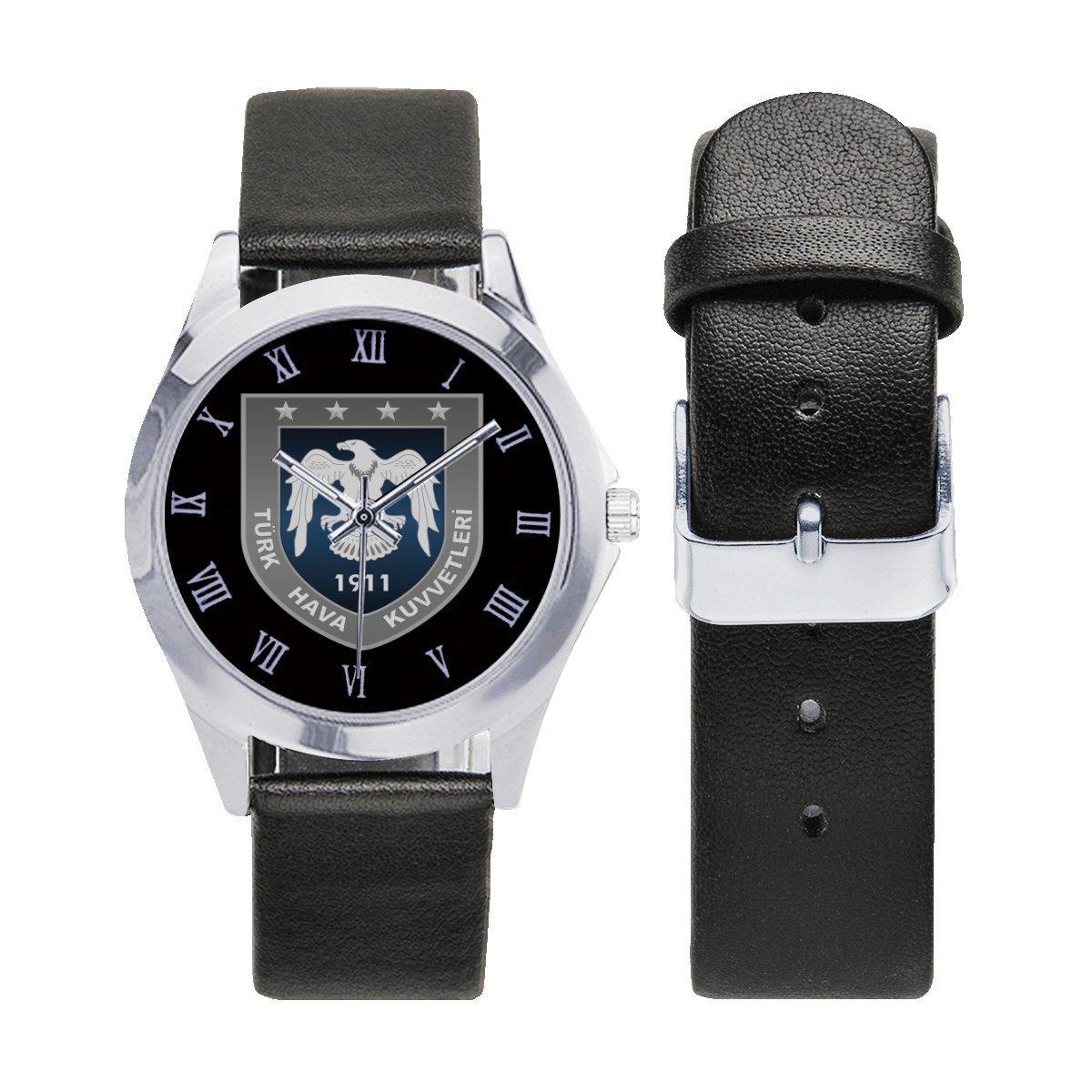 Turk Turkish Air Force Army Watches Leather Strap Watch Men Women Wrist Watches a perfect accessory