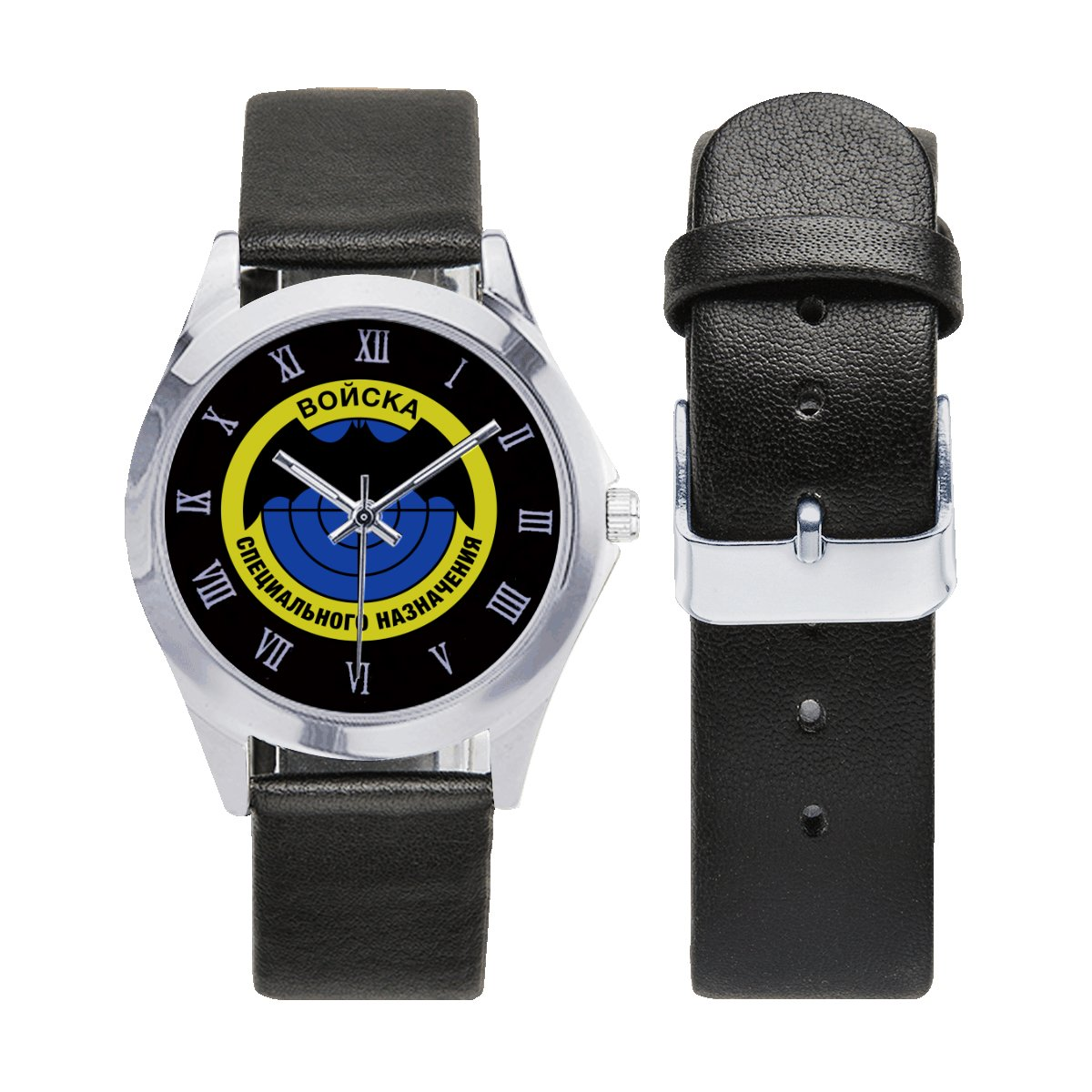 Spetsnaz Rusia Special Forces Army Leather Strap Watch Men Women Wrist Watches a perfect accessory