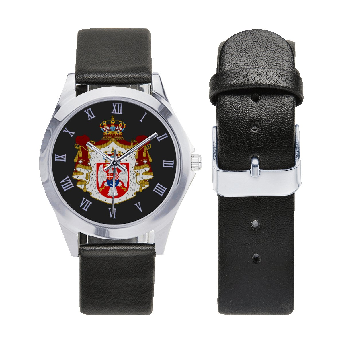Royal Yugoslav Special Forces Army Leather Strap Watch Wrist Watches a perfect accessory