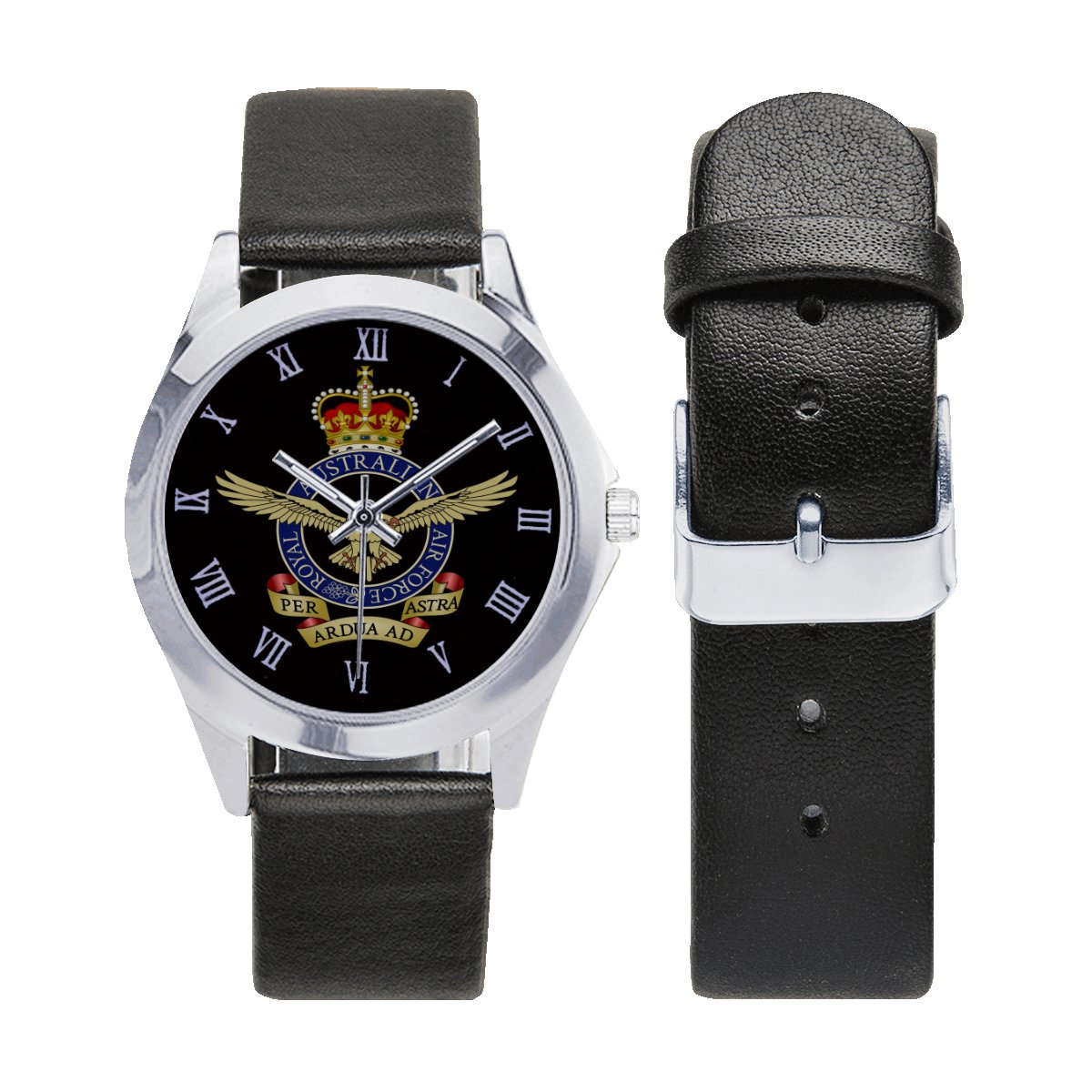 Royal Australian Air Force Watches Leather Strap Watch Men Women Wrist Watches a perfect accessory