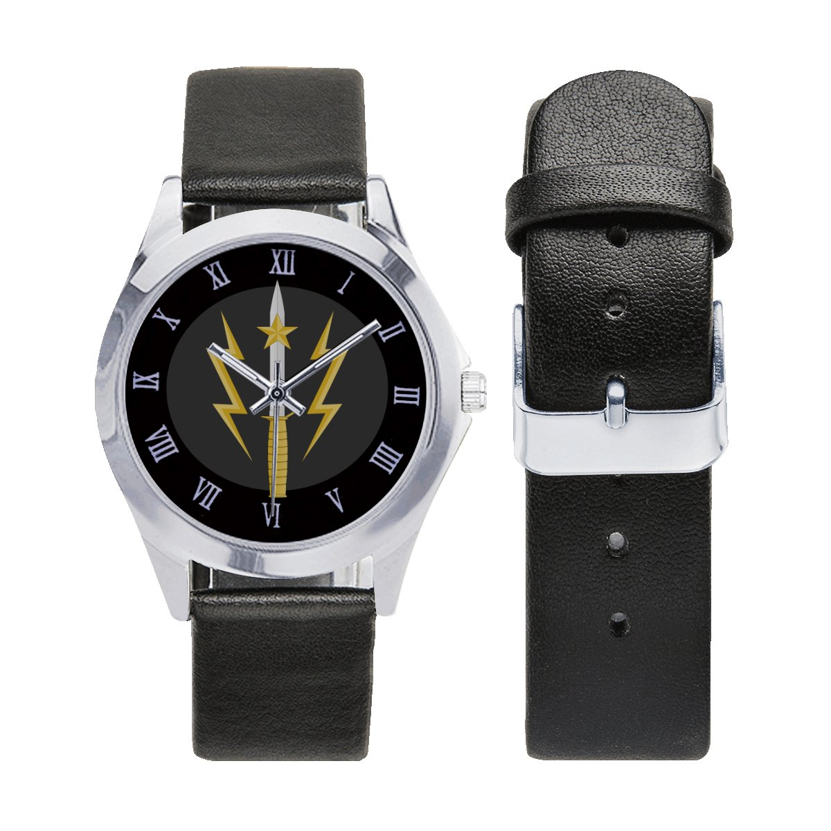 Pakistan Army Special Service Group Watches Leather Strap Watch Wrist Watches a perfect accessory