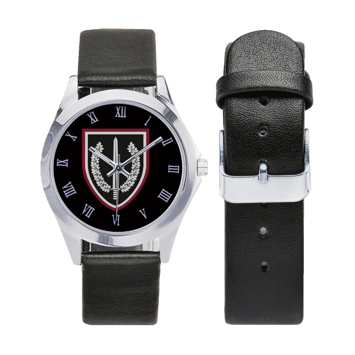 KSK Germany Kommando Spezialkräfte Leather Strap Watch Wrist Watches a perfect accessory