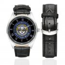 University of Pittsburgh Watch Watches Leather Strap  top deal best deals Men's Wristwatches