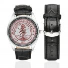 Stanford University Watch Watches Leather Strap  top deal best deals Men's Wristwatches