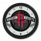Personalized Houston Rockets NBA Best Modern Wall Clocks Home Business Shop For Gift Popular Clocks