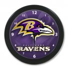 Personalized Baltimore Ravens NFL Best Modern Wall Clocks Home Business Shop For Gift Popular Clocks
