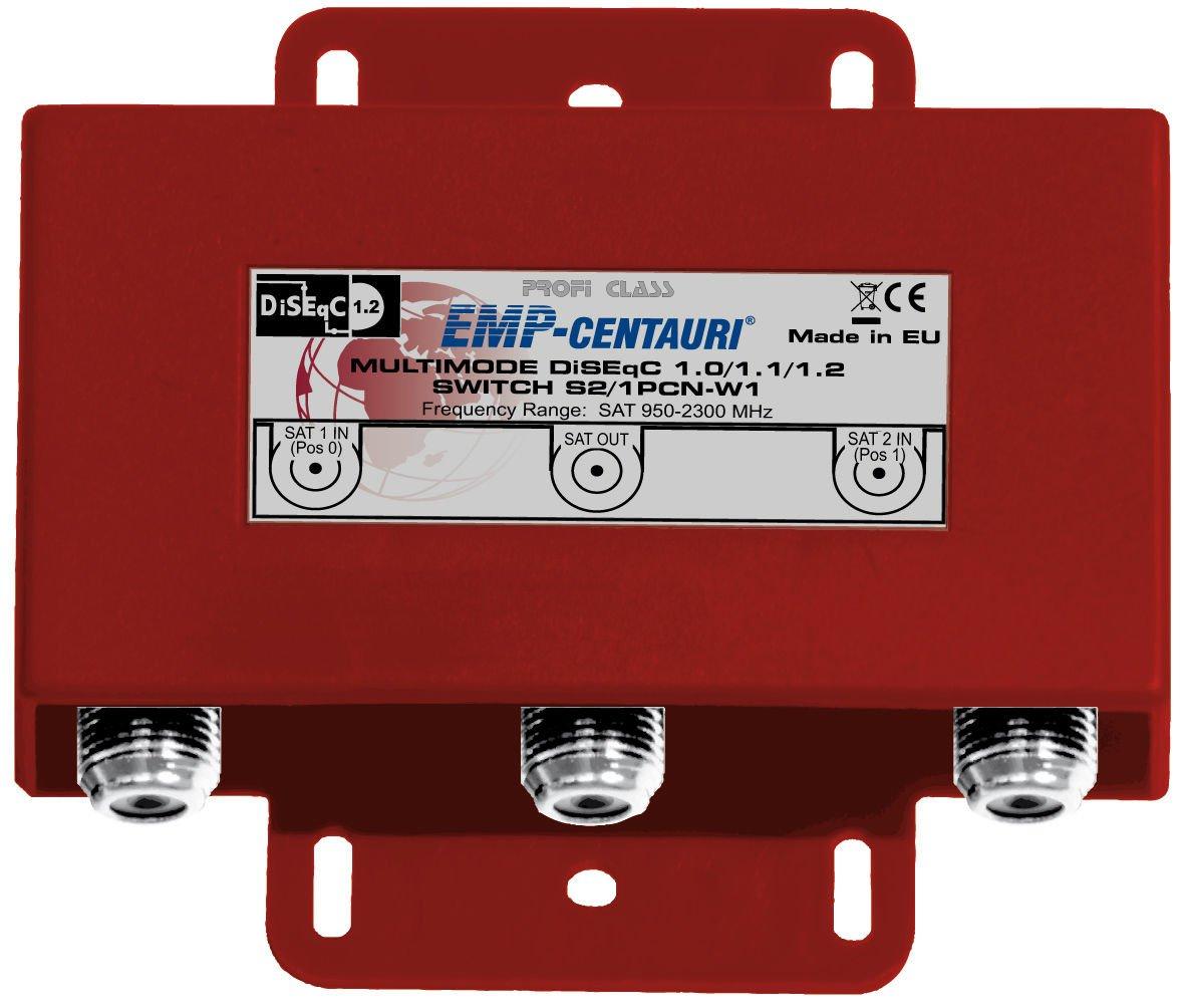 2x1 Premium DiSEqC FTA switch S2/1PCN-W1, 4 years warranty, Made in EU