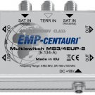 3x4 satellite multiswitch (MS3/4EUP-2) - 4 YEAR WARRANTY, Made in EU