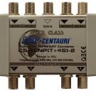 Quadruple SAT/TV Combiner C5/4ENP(T+4S)-2, Made in EU, 4 yrs warranty