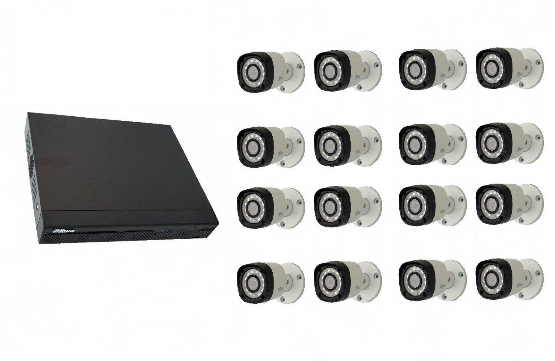 Dahua DHI-XVR5116HS-S2 Dig. Vid. Recorder + 16 cameras DAHUA HAC-HFW1200RMP-S3