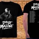 Post Malone Tour Dates 2019 Tshirt Black Color 100% Cotton Best Item