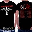 Rick Springfield's Tour Dates Best Design Black Color 100% Cotton Premium
